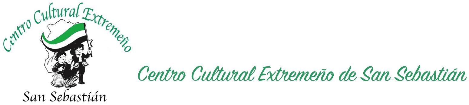 Web del Centro Cultural Extremeño de San Sebastián